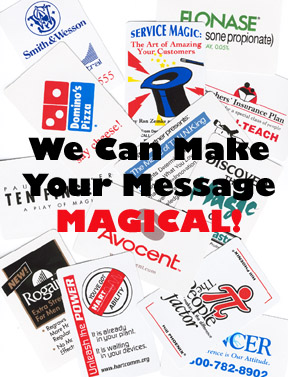 Custom Magic Promotional Items
